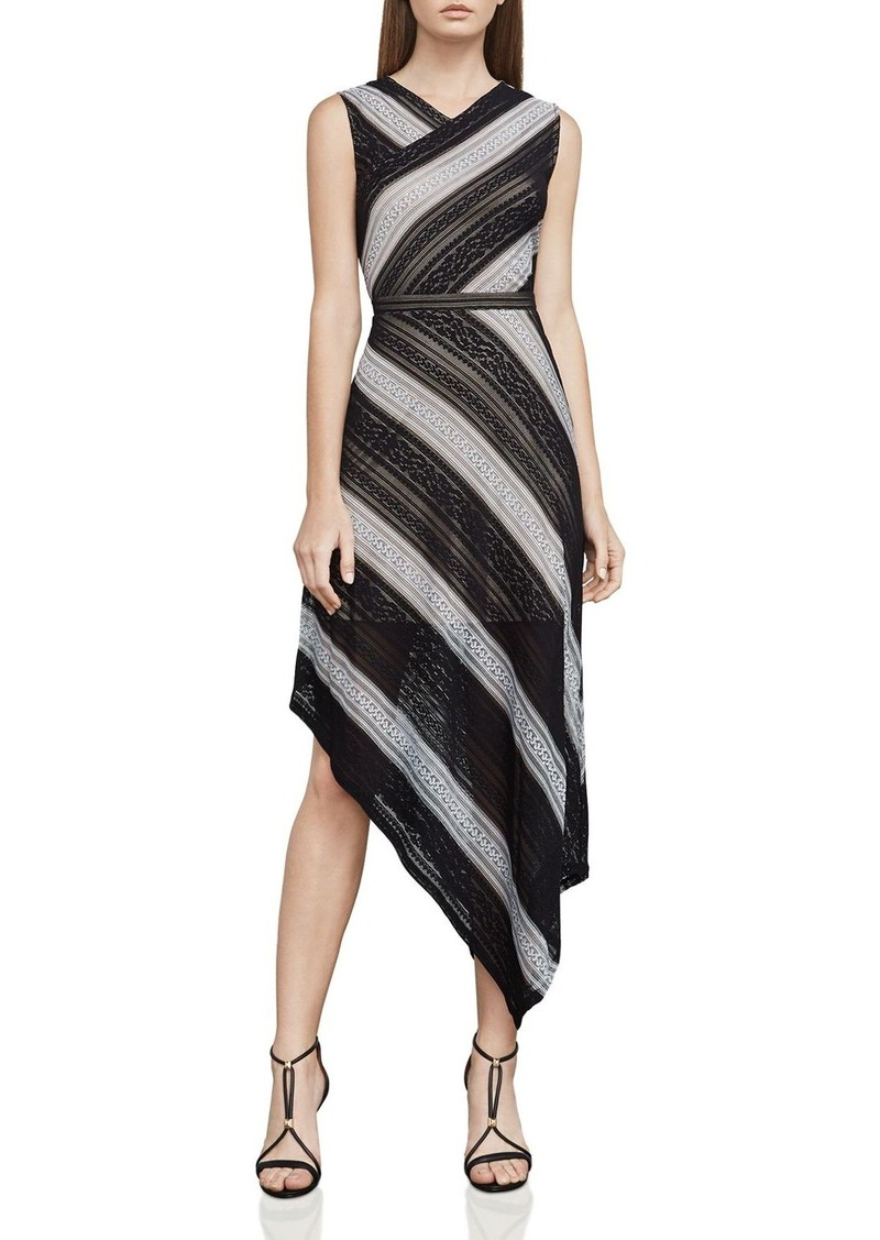 43b62df694b BCBG Max Azria BCBGMAXAZRIA Tracie Asymmetric Lace Dress