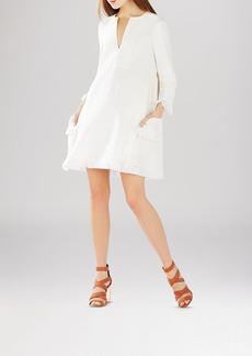 BCBGMAXAZRIA Trysta Diamond Texture Dress