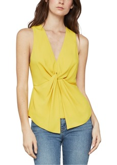 BCBG Max Azria Bcbgmaxazria Twisted Split-Back Tank Top