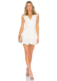 BCBG Max Azria BCBGMAXAZRIA Tyrah Ruffle Mini Dress