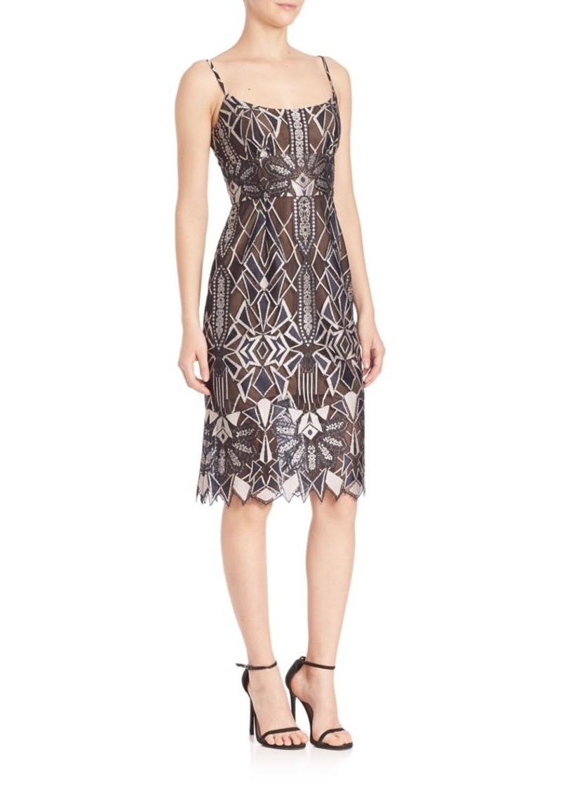 BCBG Max Azria BCBGMAXAZRIA Urban Jungle Alese Lace Dress