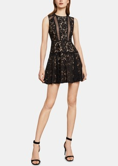 BCBG Max Azria Bcbgmaxazria Veda Lace Cutout Dress