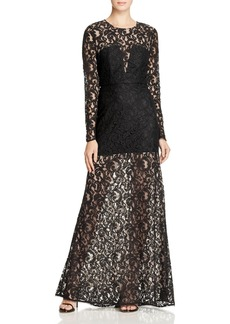 BCBGMAXAZRIA Veira Lace Gown - 100% Exclusive