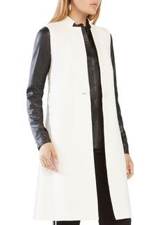 BCBG Max Azria BCBGMAXAZRIA Wes Lace-Up Vest