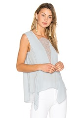 BCBG Max Azria BCBGMAXAZRIA Whitlee Tank in Blue. - size XS (also in M,S)