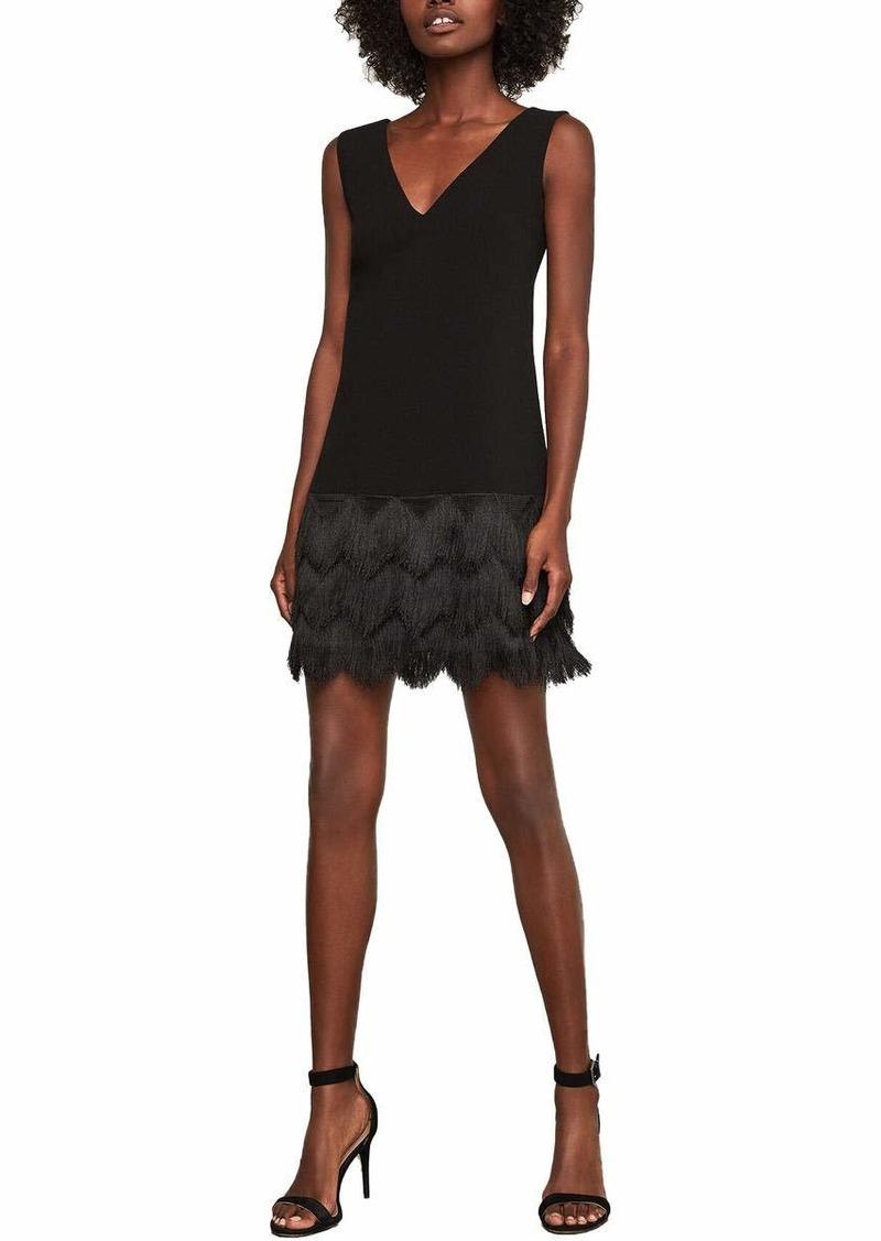 BCBG Max Azria BCBGMAXAZRIA Women's Addilyn Fringe Dress