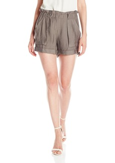 BCBG Max Azria BCBGMAXAZRIA Women's Addison High Waisted Shorts