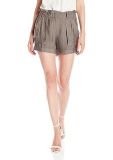 BCBG Max Azria BCBGMAXAZRIA Women's Addison High Waisted Shorts