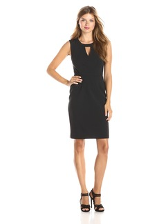 BCBGMAXAZRIA Women's Aerin Sleeveless Sheath Dress