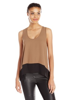 BCBGMAXAZRIA Women's Allison Sleeveless Blouse
