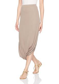 BCBG Max Azria BCBGMAXAZRIA Women's Arden-Asymmetric Knit Sportswear Skirt  L