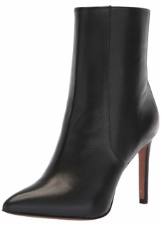 BCBG Max Azria BCBGMAXAZRIA Women's Ava Bootie Boot black leather  M US