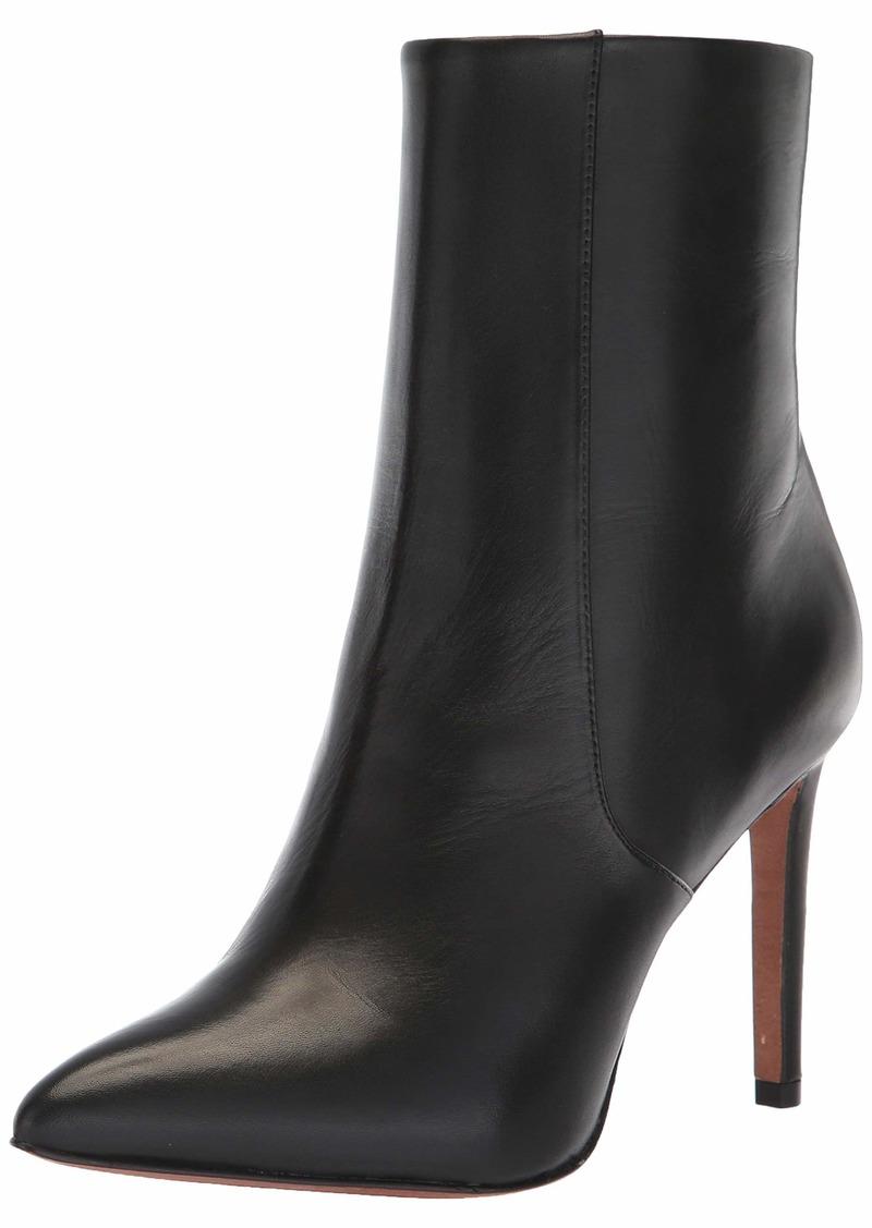 BCBG Max Azria BCBGMAXAZRIA Women's Ava Bootie Boot black leather  M US