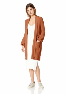 BCBG Max Azria BCBGMAXAZRIA Women's Bishop Sleeve Tunic Cardigan  XS