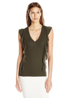 BCBG Max Azria BCBGMAXAZRIA Women's Brittney Knit Top