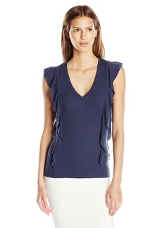 BCBGMAXAZRIA Women's Brittney Knit Top