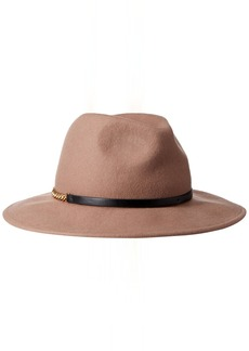BCBG Max Azria BCBGMAXAZRIA Women's Chained Panama Hat