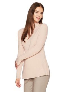 BCBG Max Azria BCBGMAXAZRIA Women's Charlie Knit Tie Back Sweater Top  L