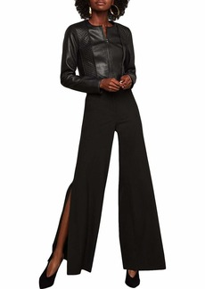 BCBG Max Azria BCBGMAXAZRIA Women's Cooper Wide-Leg Trouser