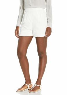BCBG Max Azria BCBGMAXAZRIA Women's Cotton Linen Shorts  MD (US )