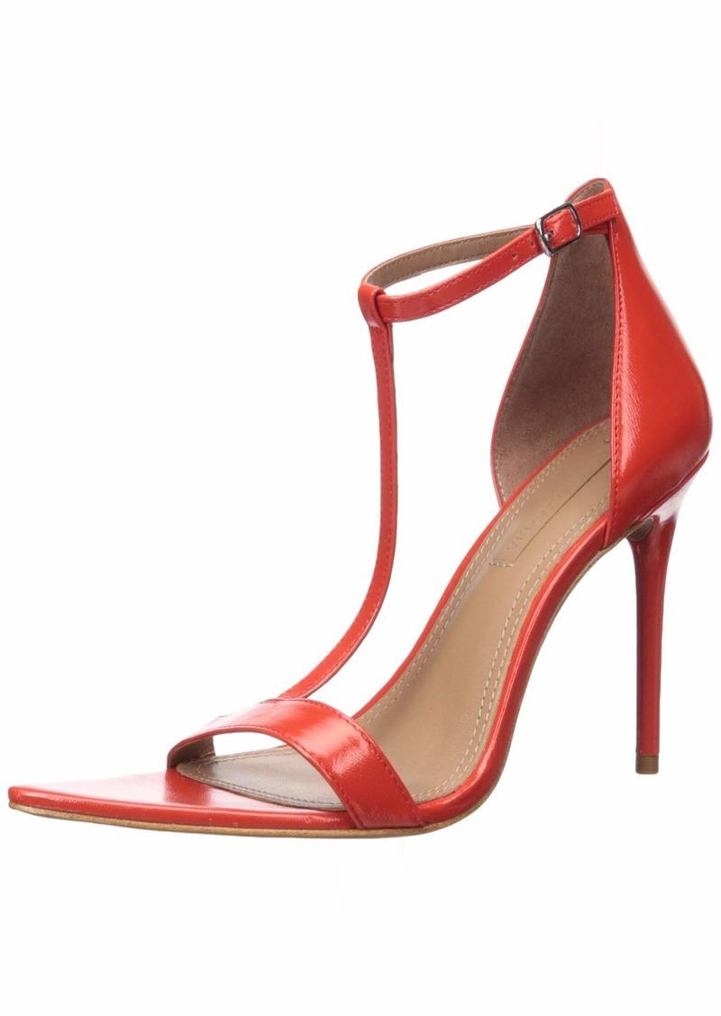 BCBG Max Azria BCBGMAXAZRIA Women's Danielle Ankle Strap Sandal Pump   M US