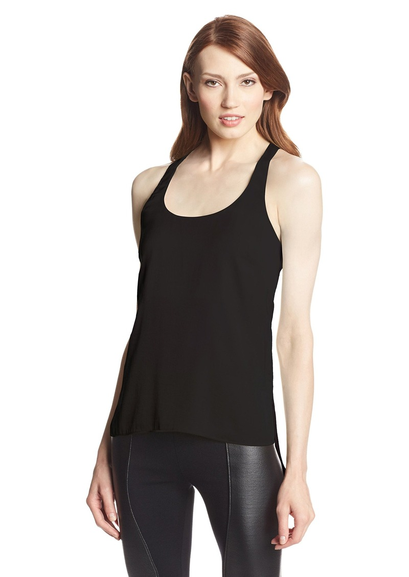 9165833faa6 BCBG Max Azria BCBGMAXAZRIA Women s Edita Top with Back Keyhole ...