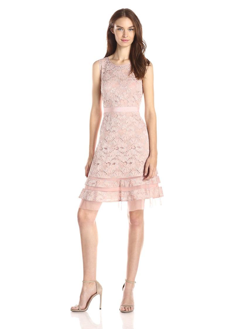 BCBG Max Azria BCBGMAXAZRIA Women's Elaina Sleeveless A-Line Dress