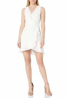 BCBG Max Azria BCBGMAXAZRIA Women's Evening Ruffle Dress