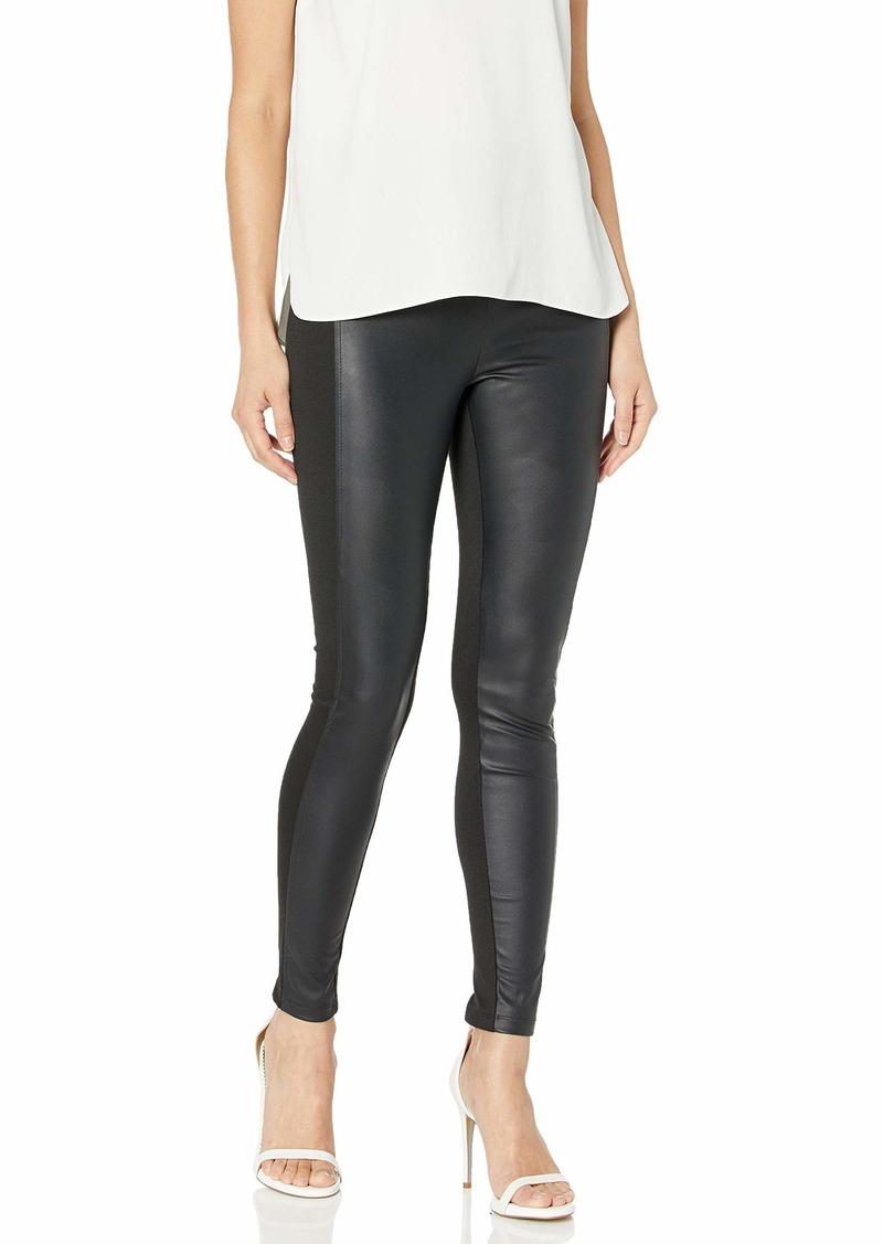 BCBG Max Azria BCBGMAXAZRIA Women's Faux Leather Leggings  L