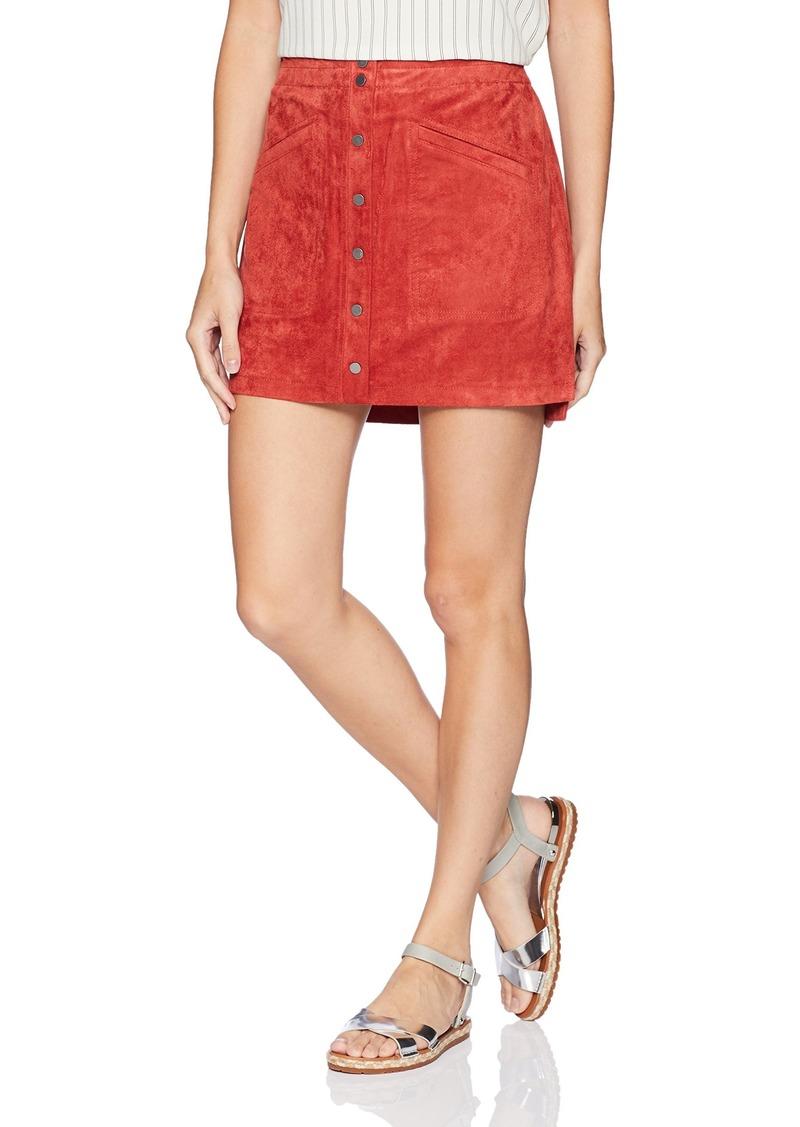 0c0e759b8e SALE! BCBG Max Azria BCBGMAXAZRIA Women's Faux-Suede Miniskirt XS