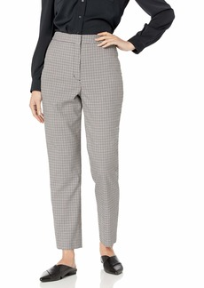 BCBG Max Azria BCBGMAXAZRIA Women's Fitted Plaid Trouser
