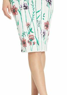BCBG Max Azria BCBGMAXAZRIA Women's Floral Pencil Skirt  XS