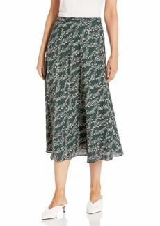 BCBG Max Azria BCBGMAXAZRIA Women's Floral Print Midi Skirt  XS (US )