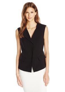 BCBGMAXAZRIA Women's Front Zip Vest