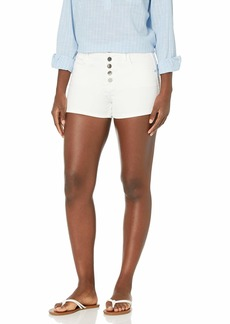 BCBG Max Azria BCBGMAXAZRIA Women's High-Rise Button Up Shorts