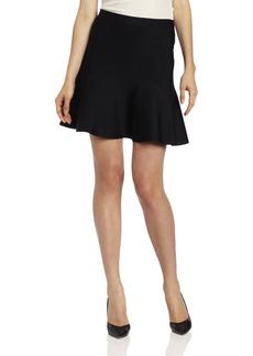 BCBGMAXAZRIA Women's Ingrid A-Line Skirt Skirt -black S