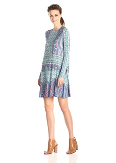 BCBGMAXAZRIA Women's Jeanna Long Sleeve Knit Dress