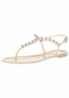 BCBG Max Azria BCBGMAXAZRIA Women's Jellia Jelly Sandal Sandal   M US