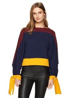 BCBG Max Azria BCBGMAXAZRIA Women's Kourney Knit Colorblocked Pullover  XS/S