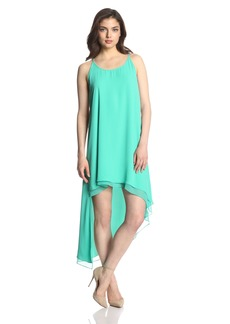 BCBG Max Azria BCBGMAXAZRIA Women's Lienna Double Layer Hi-Lo Tank Dress