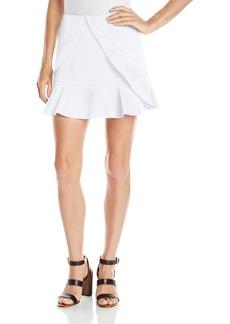 BCBGMAXAZRIA Women's Lindsey Side Ruffle Tulip Skirt