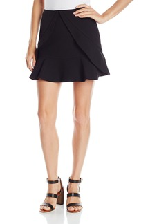 BCBG Max Azria BCBGMAXAZRIA Women's Lindsey Side Ruffle Tulip Skirt