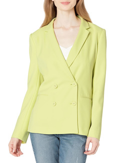 BCBG Max Azria BCBGMAXAZRIA Women's Long Sleeve Regular Blazer Jacket