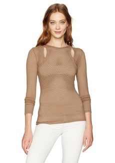 BCBGMAXAZRIA Women's Mercy Top  XS