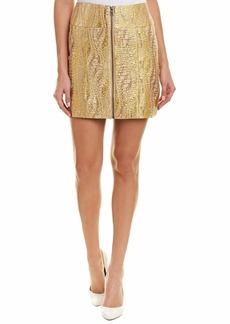 BCBG Max Azria BCBGMAXAZRIA Women's Metallic Mini Pencil Skirt  S