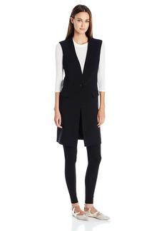 BCBG Max Azria BCBGMAXAZRIA Women's Mid-Length Vest