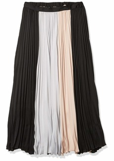 BCBG Max Azria BCBGMAXAZRIA Women's MIDI Pleated Skirt  M