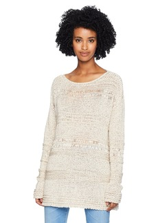 BCBG Max Azria BCBGMAXAZRIA Women's Mixed Stitch Sweater  XS