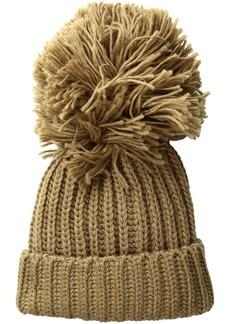 BCBG Max Azria BCBGMAXAZRIA Women's Monster Pom Hat