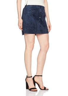 BCBG Max Azria BCBGMAXAZRIA Women's Mora Faux Suede Skirt  XS